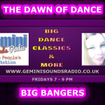 The Dawn Of Dance Friday 7-9pm